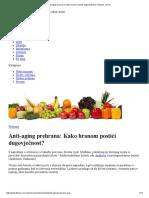 Anti-Aging Prehrana_ Kako Hranom Postići Dugovječnost_ _ Fitness.com