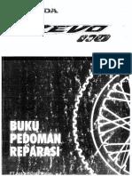 Buku Pedoman Reparasi Revo 110 by HONDA