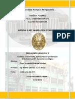 Trabajo Encargado 2 - Hidrologia Avanzada UNI - 2014 Diego 13 Jun 2014