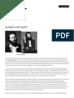Father John Misty Interview Transcription - Interview Magazine