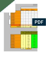 Matriz de Pugh (Sistema 1)