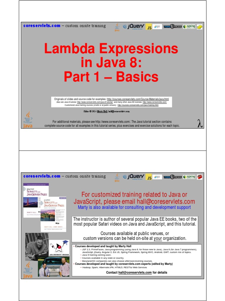 13 java 8 lambda expressions part 1 anonymous function method 13 java 8 lambda expressions part 1 anonymous function method computer programming baditri Images