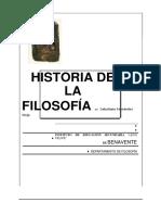 Fernandez Viejo,Historia de La Filosofia