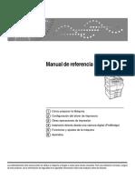 Manual Impresora RICOH SP 4510