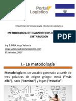 Conferencia sobre metodología de análisis logístico de Centros de Distribución. Simposio Highlogistics 1017 Jorge Valencia