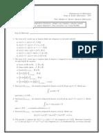 Quiz Fourier (1)
