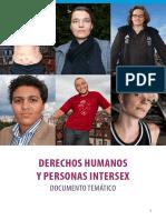 Derechos Humanos y Personas Intersex Documento Tematico