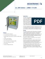 28701 2 NBD116200 Fiber Distribution Hub