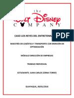 Caso Walt Disney Los Reyes Del Entretenimiento