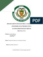 Informe de Accionamientos Electricos
