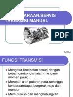 109100612 Pemeliharaan Dan Servis Transmisi Manual