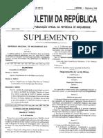 Decreto 31.2015 - Regulamento de Lei de Minas
