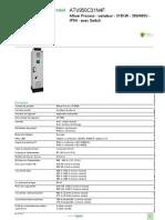 Altivar Process ATV900_ATV950C31N4F