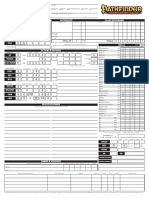 Pathfinder Form-Fillable Character Sheet