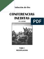 Conferencias Ineditas