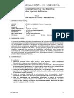 Silabo Falconi Contabilidad de Costos y Presupuestos