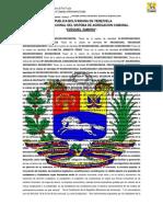 Carta Fundacional Del Sistema de Agregacion Comunal Ezequiel Zamora .