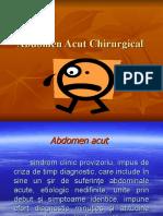 ABDOMEN ACUT CHIRURGICAL curs.ppt