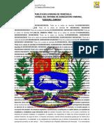 Carta Fundacional Del Sistema de Agregacion Comunal Ezequiel Zamora Borrador Propuesta. Revisen