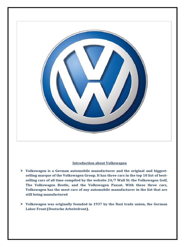 VW Mexico - Project Managet PDF | Volkswagen | Volkswagen Group