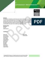 Exam Prep Guide 3V0-643 v1.2