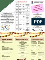 Buku Program Bulan Panitia PJPK.