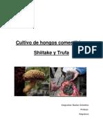 Cultivo de Hongos Comestibles Shiitake y Truficultura