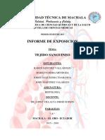 informe-tejido-sanguineo