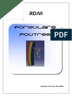 RDM - Formulaire Poutres