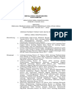 Perdes Nomor 4 Tahun 2016 Ttg RPJMDesa
