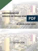 20110614 Abdomen Agudo Dr Miguel Eljure