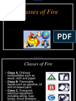 Classes of Fire
