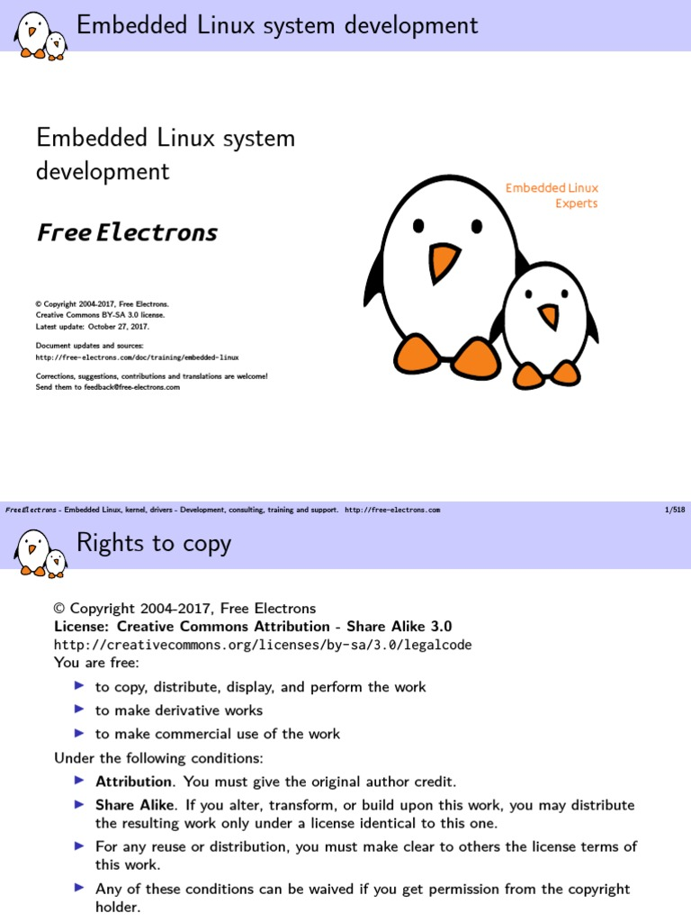 Embedded Sys in Linux   Free Software   Embedded System