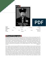 Profil Sultan Agung