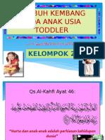 Tumbuh Kembang Pada Anak Usia Toddler