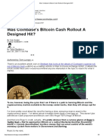 Was Coinbase's Bitcoin Cash Rollout a Designed Hit