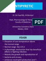 Pharmacology of Antipyretic Drugs