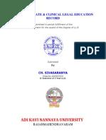 Seminar Clinical Record 3 & 5 Years 2016-17