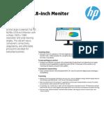 HP LED IPS Monitor N246v 23.8 inch [1RM28AA]