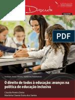 07 - O Direito de Todos à Educação - Avanços Na Política de Educação Inclusiva