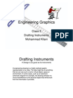 Class 2 - Drafting Instruments