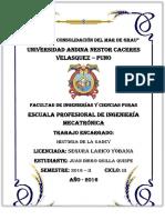 Historia de La Universidad Andina Néstor Cáceres Velásquez
