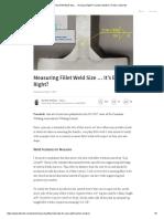 Measuring Fillet Weld Size … It's Easy Right_ _ Karsten Madsen _ Pulse _ LinkedIn