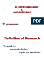 Research Methodology Bio Statistics Net