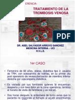 Tratamiento de la trombosis venosa