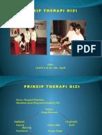 Prinsip Therapi Gizi