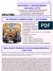 Govinda's E-Nieuwsbrief 2010_09