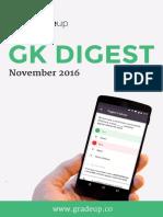 Monthly GK