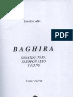Baghira (Sonata Para Saxofon Alto y Piano)