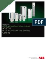 Abb Acs550 Catalog en 3afe64792857 Revr 2705